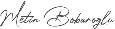 Metin Bobaroğlu Logo